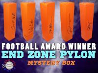 Schwartz Sports Football Award Winner Signed Endzone Pylon Mystery Box - Series 4 (Limited to 75) (EVERY PYLON IS SIGNED BY AN AWARD WINNER!!) at PristineAuction.com