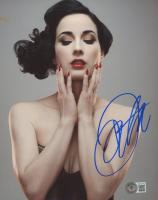 Dita Von Teese Signed 8x10 Photo (Beckett COA) at PristineAuction.com