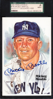 Mickey Mantle Signed 1981 Perez-Steele #145 #9959/10000 (SGC Encapsulated) at PristineAuction.com