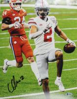 Chris Olave Signed Ohio State Buckeyes 11x14 Photo (Beckett COA) at PristineAuction.com