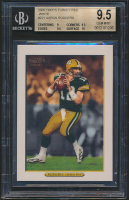 Aaron Rodgers 2005 Topps Turkey Red White #221 (BGS 9.5) at PristineAuction.com