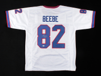 Don Beebe Signed Jersey (Beckett COA) at PristineAuction.com