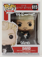 "Kiefer Sutherland Signed ""The Lost Boys"" #615 David Funko Pop! Vinyl Figure Inscribed ""David"" (JSA COA) at PristineAuction.com"