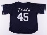 Cecil Fielder Signed Jersey (JSA Hologram) at PristineAuction.com