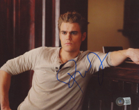 """Paul Wesley Signed """"The Vampire Diaries"""" 8x10 Photo (Beckett COA) at PristineAuction.com"""