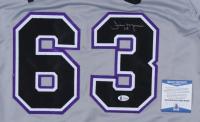Jim Morris Signed Jersey (Beckett COA) (See Description) at PristineAuction.com