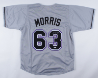 Jim Morris Signed Jersey (Beckett COA) at PristineAuction.com
