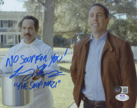 """Larry Thomas Signed """"Seinfeld"""" 8x10 Photo Inscribed """"No Soup For You!"""" & """"The Soup Nazi"""" (Beckett COA & PSA COA) at PristineAuction.com"""