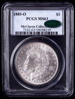 1885-O Morgan Silver Dollar - McClaren Collection II (PCGS MS63) CAC at PristineAuction.com