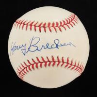 Harry Brecheen Signed ONL Baseball (JSA COA) (See Description) at PristineAuction.com