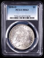 1898-O Morgan Silver Dollar (PCGS MS63) at PristineAuction.com