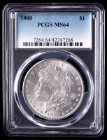 1900 Morgan Silver Dollar (PCGS MS64) at PristineAuction.com