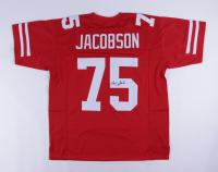 Larry Jacobson Signed Jersey (JSA Hologram) at PristineAuction.com