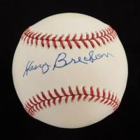 Harry Brecheen Signed OML Baseball (JSA COA) (See Description) at PristineAuction.com