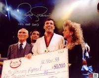 "Royce Gracie Signed UFC 8x10 Photo Inscribed ""UFC HOF 2003"" (PA COA) at PristineAuction.com"
