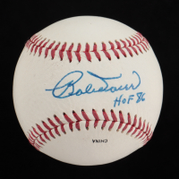 "Bobby Doerr Signed OL Baseball Inscribed ""HOF 86"" (JSA COA) (See Description) at PristineAuction.com"