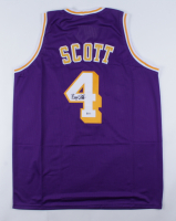 Byron Scott Signed Jersey (Beckett COA) at PristineAuction.com