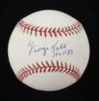 "George Kell Signed OML Baseball Inscribed ""HOF 83"" (JSA COA) at PristineAuction.com"