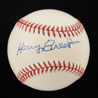 Harry Brecheen Signed OML Baseball (JSA COA) at PristineAuction.com