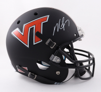 Michael Vick Signed Virginia Tech Hokies Full-Size Matte Black Helmet (JSA COA) at PristineAuction.com