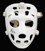 "Grant Fuhr Signed Full-Size Throwback Goalie Mask Inscribed ""HOF 03"" (Schwartz Sports COA) (See Description) at PristineAuction.com"