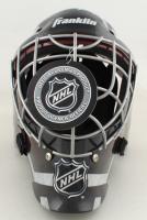 "Grant Fuhr Signed NHL Full-Size Hockey Goalie Mask Inscribed ""HOF 03"" (Schwartz Sports COA) (See Description) at PristineAuction.com"