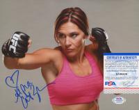 "Cat Zingano Signed UFC 8x10 Photo Inscribed ""Alpha"" (PSA COA) at PristineAuction.com"
