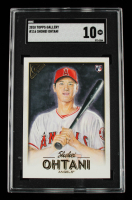 Shohei Ohtani 2018 Topps Gallery #116 RC (SGC 10) at PristineAuction.com