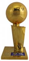 Magic Johnson Signed 2020 NBA Championship Replica Trophy (Johnson COA) at PristineAuction.com