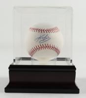 Kevin Youkilis Signed OML Baseball with Display Case (Beckett COA & MLB Hologram) at PristineAuction.com