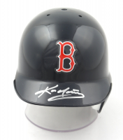 Kevin Youkilis Signed Red Sox Mini Batting Helmet (MLB Hologram & Mounted Memories Hologram) at PristineAuction.com