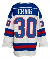 Jim Craig Signed Jersey (JSA Hologram) at PristineAuction.com