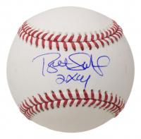 "Bret Saberhagen Signed OML Baseball Inscribed ""2x Cy"" (JSA COA) at PristineAuction.com"