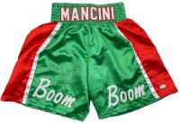 "Ray ""Boom Boom"" Mancini Signed Boxing Trunks (JSA COA) at PristineAuction.com"