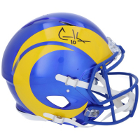 Cooper Kupp Signed Rams Full-Size Authentic On-Field Speed Helmet (Fanatics Hologram) at PristineAuction.com
