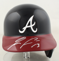 Ronald Acuna Jr. Signed Braves Full-Size Batting Helmet With Display Stand (JSA COA) at PristineAuction.com