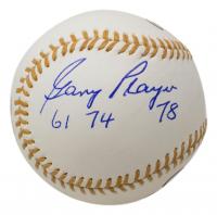 "Gary Player Signed Golden Glove Baseball Inscribed ""61, 74, 78"" (JSA COA) at PristineAuction.com"