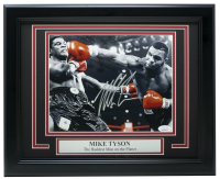Mike Tyson Signed 11x14 Custom Framed Photo Display (JSA COA) at PristineAuction.com