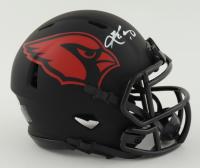 Kyler Murray Signed Cardinals Eclipse Alternate Speed Mini Helmet (Beckett COA) at PristineAuction.com