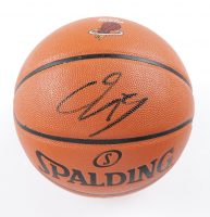 Shaquille O'Neal Signed NBA Game Ball Series Heat Logo Basketball (Schwartz COA) at PristineAuction.com