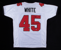 """Devin White Signed Jersey Inscribed """"SB LV Champs"""" (Beckett Hologram) at PristineAuction.com"""