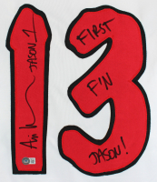 "Ari Lehman Signed Jersey Inscribed ""Jason 1"" & ""First F'n Jason!"" (Beckett Hologram) at PristineAuction.com"