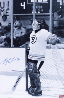 Gerry Cheevers Signed Bruins 12x18 Phoyo (YSMS COA) at PristineAuction.com
