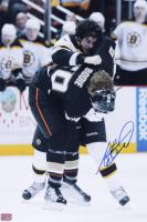 Adam McQuaid Signed Bruins 12x18 Photo (YSMS Hologram) at PristineAuction.com