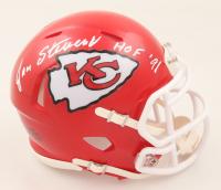 "Jan Stenerud Signed Chiefs Speed Mini Helmet Inscribed ""HOF '91"" (Beckett COA) at PristineAuction.com"