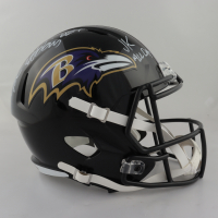 """J.K. Dobbins Signed Ravens Full-Size Speed Helmet Inscribed """"JK All Day"""" (JSA COA & Dobbins Hologram) (See Description) at PristineAuction.com"""