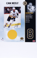 Cam Neely Signed Bruins 13x20 Photo (YSMS COA) at PristineAuction.com