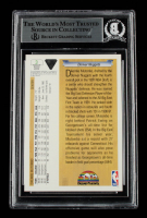 Dikembe Mutombo Signed 1991-92 Upper Deck #3 RC (BGS Encapsulated) at PristineAuction.com
