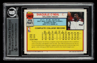 Shaquille O'Neal Signed 1992-93 Topps #362 RC (BGS Encapsulated) at PristineAuction.com