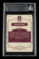 Michael Spinks Signed 2014 Panini Golden Age #144 (BGS Encapsulated) at PristineAuction.com